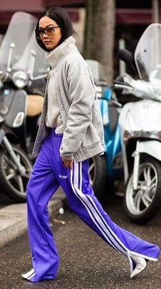 Street Style Lila Kleidung, Flieder, Oberteile, Farbe Des Jahres, Mode  Herbst,