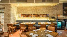 Pauwalla Indian restaurant in soho. Floyd is going to make it rain bacon naan on Sullivan Street tonight