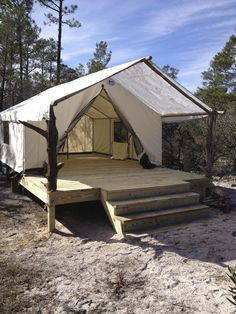 C&ing Tents - Enjoying South Alabamau0027s Best Tent C&ing This Fall | RootsRated & Could You live in a tent on rural land in Northern Arizona ...