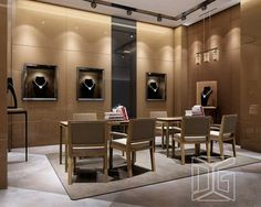 BOUTIQUE Jewellery Shop Design, Jewellery Showroom, Jewelry Shop, Design Shop, Jewelry Store Displays, Best Jewelry Stores, Jewellery Display, Showroom Interior Design, Office Interiors