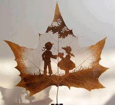 leaf creativity
