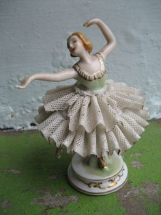 Beautiful ballerina figurine