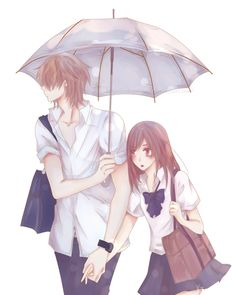 anime, naruse, and namaikizakari image Manga Couple, Anime Love Couple, Anime Couples Manga, Cute Anime Couples, Kawaii Anime, Loli Kawaii, Anime Love Story, Namaikizakari, Cute Love