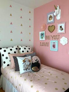 Van franko & co. Cute Rooms For Girls, Bedroom Decor For Teen Girls, Cute Bedroom Ideas, Room Ideas Bedroom, Bedroom Themes, Home Decor Bedroom, Rustic Bedroom Design, Room Design Bedroom, Girl Bedroom Designs