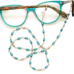 New Modern Silver Tree of Life Glasses Sunglasses Metal Chain Strap Long Length