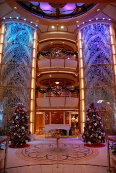 Princess Cruises - deck the baughs! Princess Cruises, Turks And Caicos, Deck The Halls, Beautiful Places, Mansions, House Styles, Work Cubicle, Seas, Vacations