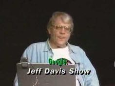 """Jeff Davis Show"" Exclusive TV YouTube 2 minutes - 44 seconds Great Segment !! Jeff Davis discusses loss of civil liberties and an ""awakening"" with a live viewer caller. Jeff Davis joined in studio with  late great Terry liberty Parker. Also an internet appearance of ""Granny""  host of TV show ""What's on your Mind"" Great promo for ""Google"" and the internet. Aired live Channel Austin TV studios Austin Texas USA 22 October 2006 Uploaded by Mike Moore - Zoom lens Imaging"