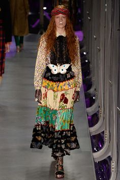 Gucci Fall 2017 Ready-to-Wear Fashion Show - Victoria Schons