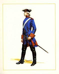 MINIATURAS MILITARES POR ALFONS CÀNOVAS: CHILE   DRAGONES  DE LA FRONTERA ,1778