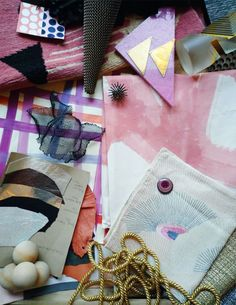 Kelly Wearstler's Creative Process - Vibe Tray Business Branding, Interior Design Inspiration, Color Inspiration, Inspiration Boards, Material Board, Wie Macht Man, Kelly Wearstler, Color Stories, Creative Thinking