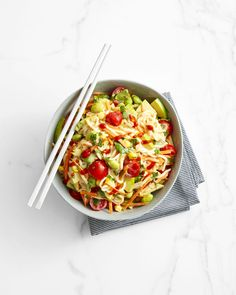 Peanutty Edamame and Noodle Saladgoodhousemag