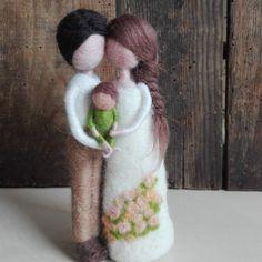 Wool Dolls, Felt Dolls, Felt Angel, Needle Felting Tutorials, Felt Fairy, Felt Cat, Autumn Crafts, Felt Patterns, Fairy Dolls