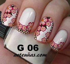 Hair And Nails, Ale, Nail Art, Maria Jose, Nail Ideas, Beauty, Enamel, Stickers, Fingernail Designs