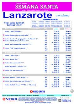 Lanzarote, Especial Semana de Pascua, salida 5 Abril desde Bilbao ultimo minuto - http://zocotours.com/lanzarote-especial-semana-de-pascua-salida-5-abril-desde-bilbao-ultimo-minuto/