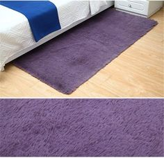 Sytian Inch Ultra Soft Thick Indoor Morden Shaggy Area Rugs Pads Non Slip Absorbent Bedroom Livingroom Sitting-room Mat Rug Carpet Fashion Color Home Decorate Rug (Purple Grey) Purple Kitchen Accessories, Kidsroom, Purple Grey, Fashion Colours, Kids House, Kids Furniture, Colorful Rugs, Rugs On Carpet, Area Rugs
