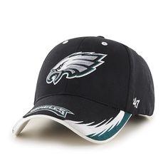 0d11b5f011a Philadelphia Eagles Take Down MVP Black 47 Brand Adjustable Hat