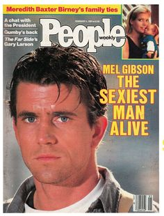 Mel Gibson on the cover of People Magazine (February 4, 1985)