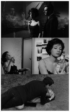 """I no longer have inspirations, only recollections.""  La Notte, 1961, dir. Michelangelo Antonioni"