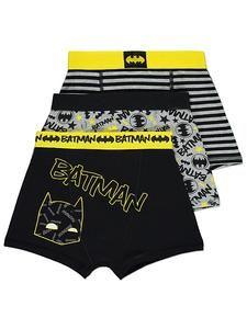 Kids DC Comics Batman Clothes Online: Batman Boxers 3 Pack – Novelty-Characters