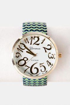 Francesca's chevron watch