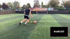 Soccer Footwork Drills, Soccer Practice Drills, Football Training Drills, Soccer Drills For Kids, Football Workouts, Soccer Skills, Soccer Tips, Play Soccer, Football Tricks