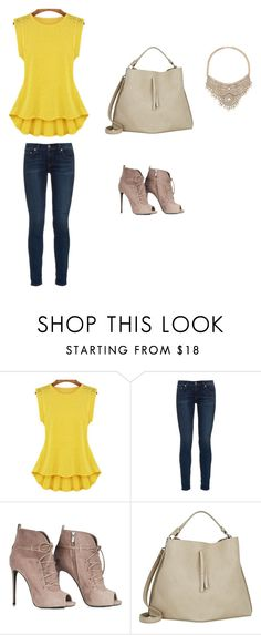 dossie by ateliepatricialima on Polyvore featuring rag & bone, Maison Margiela and Bebe