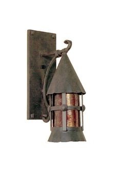 Original antique french copper lantern on hand wrought iron bracket bungalow wall bracket steven handelman studios santa barbara ca electric and gas lights mozeypictures Images