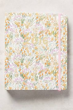 Tiny Blossoms 2016 Planner