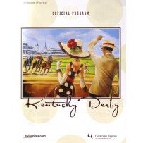 2013 Kentucky Derby Official Program, buy them to hand out at your party