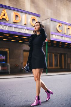 I'M WEARING  >>  Dress: MSGM  |  Boots: Saint Laurent  |  Bag: Versace via Farfetch I am always amazed by how quickly the Holiday Season catches up on us. It's the middle of the summer and before we know it, the leaves start falling, the days get colder and I immediately start planning where I will …