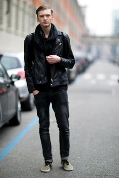 Male Models Off Duty: Milan Men's Fashion Week 2014