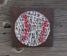 Custom Baseball String Art