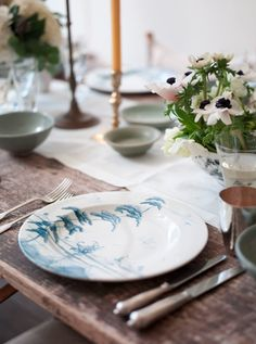 Gwyneth Paltrow, Rose Uniacke, Easter Table Setting, Remodelista