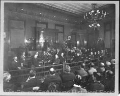 Fort Wayne City Hall Council Room, Fort Wayne, Indiana, about 1900.