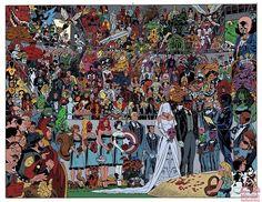 Deadpool's Wedding by Scott Koblish