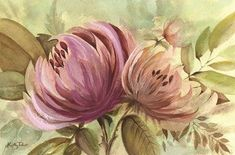 Framed Garden Mums Print