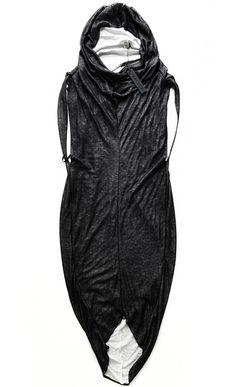 Cocoon Sleeveless Dress. 625 USD, via The Cools