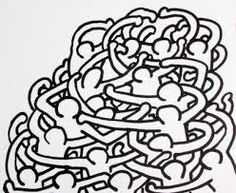 20 Drawings, 1989 Gouache and Black Ink on Paper 25 x 30 inches x cm Created Oct. Graffiti Styles, Graffiti Art, K Haring, Pittsburgh, Keith Allen, Modern Art, Contemporary Art, Keith Haring Art, Famous Artists