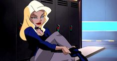 Imagem de Black Canary, gif, and dc comics Cartoon As Anime, Cartoon Gifs, Cartoon Icons, Animated Cartoons, Batgirl, Justice League Animated, Aarmau Fanart, Sanji One Piece, Cartoon Outfits