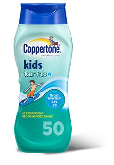 Coppertone Kids Tear Free with Zinc Oxide Broad Spectrum SPF Bottles (Pack of Sunscreen Spf 50, Broad Spectrum Sunscreen, Health And Safety, Lotion, At Least, Pure Simple, Pure Products, Health Products, Skin Care