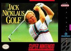 Complete Jack Nicklaus Golf - SNES