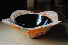 Microwaveable Bowl Cozy microwave bowl potholder