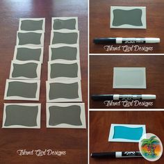 """Reusable dry erase placecards / tags / buffet labels / food cards. #placecards #dryerase #dryeraseboard #tags #foodcard #buffetcards #thanksgiving…"""