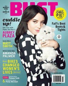 Aubrey Plaza - Bust Magazine Cover [United States] (October 2012)