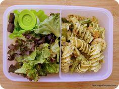 pâtes et salade