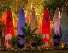 Surfboard Heaven - Surfboard Fence, Hana Highway, Maui, Hawaii