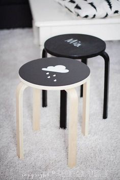 The Best Ikea Stool Hacks (to Steal) #ikeahack #kidsrooms