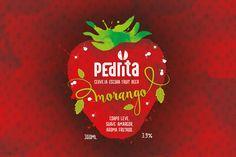 Criação de Rótulo para Cerveja Artesanal Pedrita Morango - André Bets