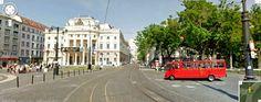 Google Street View - Hviezdoslavovo namestie, Bratislava Bratislava, Cool Pictures, Street View, Google, Blog, Blogging