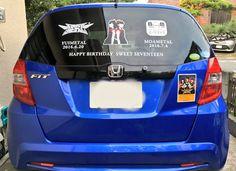 """KANIMETAL on Twitter: """"もあちゃん、お誕生日おめでとう!ゆいちゃんと一緒に素敵な17才の1年を過ごしてね。(^-^)/ 痛車バージョンアップ!今月も引き続きこんな車でお仕事回ります。見かけたらキツネサイン! #MOAMETAL聖誕祭 #BABYMETAL https://t.co/D0bmI0fDBF"""""""